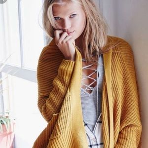 Urban Outfitters BDG Dolman Sweater Cardigan